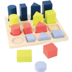 Geometry Shape fitting Puzzle